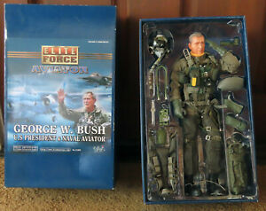 Blue Box Elite Force Aviator: George W. Bush U.S. President & Naval Aviator 12""