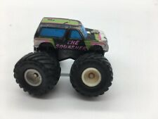 Vintage Ford Bronco The Squasher Monster Truck Micro Machines Tuff Trax Series