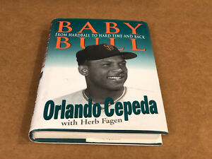 Book; Sports Biography, Orlando Cepeda: Baby Bull, Excellent-Near Mint Condition