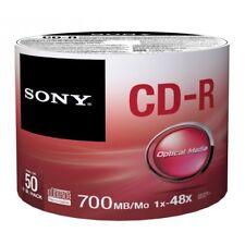 Sony 50cdq80sb 48x 50pk - Confezione da 50
