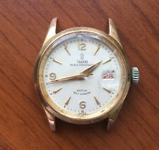 VERY RARE Men's TUDOR 7956 PRINCE OYSTERDATE Gold Plated Watch