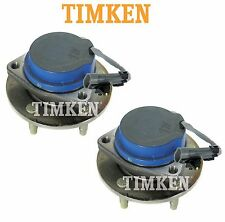 For Cadillac CTS STS RWD Pair Set of Front Wheel Bearings Hubs Assies Timken