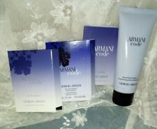 Armani Code perfumed Bodylotion und 3 Duftproben EdP