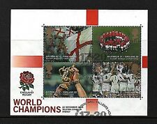 """Sellos GB 2003 """"England Rugby World Cup"""" SG MS2416-Fine Used"""