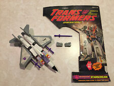 Transformers G2 Starscream Loose Complete Figure w/ Card