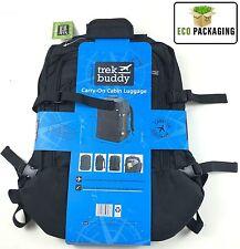TREK Buddy bagaglio a mano da cabina bagagli nero dimensioni circa 55 x 40 x 20cm