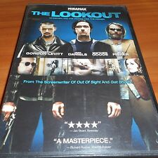 The Lookout (DVD, Widescreen 2007) Jeff Daniels, Joseph Gordon-Levitt Used