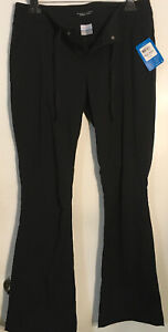 Columbia Womens Pants Black Size 12 Omni-Shade Extensible Stretch $75