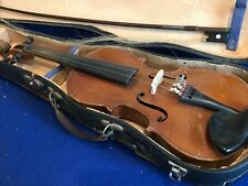 Students violin old comes in case