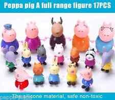 Familia Peppa Pig Friends Amigos Toys Pepa Pig Family Kids Jugete Cerdita 17 pcs
