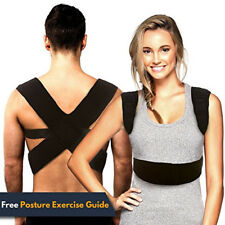 New Style Clavicle Brace Upper Back Pain Relief Shoulder Lower Back Support UK