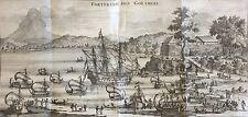 Forteresse des Goramois Inde comptoir Nederland Pays-Bas 1704