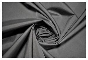 "Medium Grey Cordura Fabric 500D Outdoor Nylon DWR Coated Water Repellent 60""W"