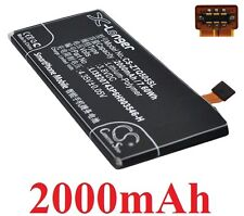 Batteria 2000mAh tipo LI3820T43P6H903546-H Per ZTE Blade Apex 2