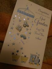 Birth of your Great Grandson greetings card