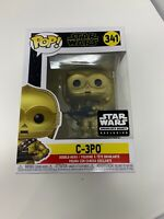 Funko Pop C-3PO Star Wars Smuggler's Bounty Rise Of Skywalker #341 Vinyl In Hand