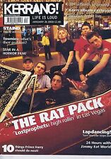 STAIND / TOM MORELLO / KORN	Kerrang	no.	888	Jan	26	2002