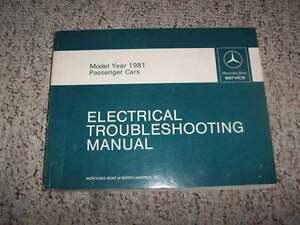Repair Manuals Literature For 1981 Mercedes Benz 380sl For Sale Ebay