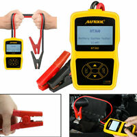12V Car Load Battery Tester Analyzer Cranking Charging Test CCA100-2400 GEL AGM
