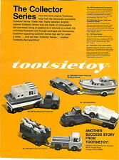 1969 ADVERT Tootsietoy Cabin Cruiser Cadillac El Dorado Jeepster Houseboat