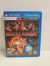 New listing Mortal Kombat Sony PlayStation Vita Ps Vita Tested Working Fast Shipping