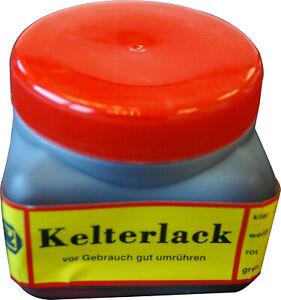 Kelterlack 375 ml rot Weinpresse Reparatur-Lack Zubehör Ersateil
