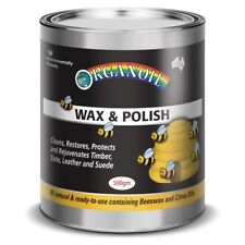 Natural WAX & POLISH Organoil Beeswax Timber Polish Leather Polish 200g