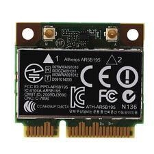 AR9285 AR5B195 150M+BT3.0 Half Mini PCI-E Wireless Card SPS:593127-001 5927 D3B7