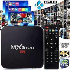 NEW MXQ PRO BOX -  KODI Quad-Core Android 7.1 SMART TV - Ultra HD 4K  - UK PLUG