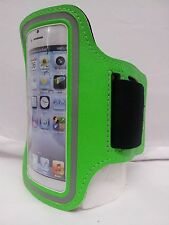 GREEN Armband Case for Jogging Running Apple iPhone 5 5S Holder Cover Atronica