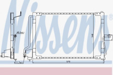 Kondensator, Klimaanlage für Klimaanlage NISSENS 94117