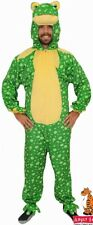 Adult Frog Costume Animal One Piece Fancy Dress Costume Party Toad Amphibian