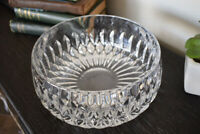 Large Glass Or Crystal Decorative Bowl