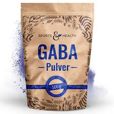 Gaba Pulver 500g - optimale Löslichkeit - Keine Zusätze