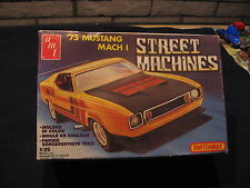 1981 AMT LESNEY 1973 MUSTANG MACH 1  MODEL KIT COMPLETE PARTS FACTORY SEALED