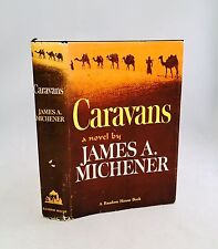Caravans-James A. Michener-SIGNED!!-First/1st Book Club Edition-1963-VERY RARE!!