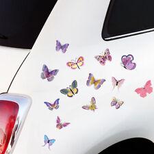 "Wandkings Autosticker ""Bunte Schmetterlinge""  2x A4 Set Aufkleber Deko für Auto!"
