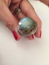 Sterling Silver Ring Bronze Argento 925 Anello Vintage