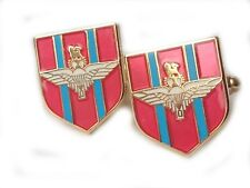 Parachute Regiment Military Cufflinks Shield