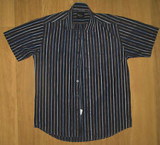 Paul Smith Men's Short Sleeve Striped Casual Shirts & Tops