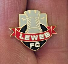LEWES FC SMALL CREST ENAMEL PIN BADGE