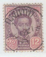 THAILAND  1887 - 1891  ISSUE 12 ATTS. SHOWING NICE POSTMARK  SCOTT 16