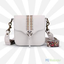 Sakroots Seni Camera Bag Crossbody - Ivory Leather / Ruby Spirit Desert - NWT