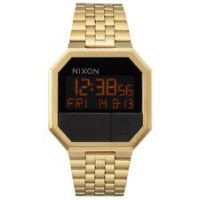 Nixon A158 502 Re-run All Gold Digitaluhr