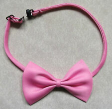 Boys Bow Tie Adjustable Bowtie UNISEX Boy Girl PINK