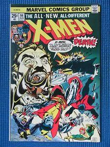 UNCANNY X-MEN # 94 - (VF+) -1ST NEW TEAM,NIGHTCRAWLER,WOLVERINE,COLOSSUS,STORM