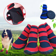 WATERPROOF PET CATS DOG BOOTS ANTI-SLIP PUPPY SHOES RAIN SNOW BOOTIES FOOTWEAR