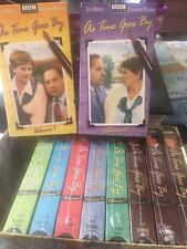 As Time Goes By VHS Volume 1 Thru 10 Factory Sealed BBC Video