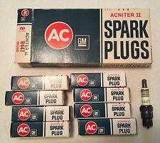 AC Spark Plugs R44T Acniter II Green Rings 5613355 Corvette Camero Chevelle Nova