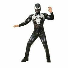 Venom Halloween Costume Black Spider - Man Muscle Chest Boy Child Small 4 5 6